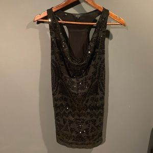 Cute sparkly Guess tank!